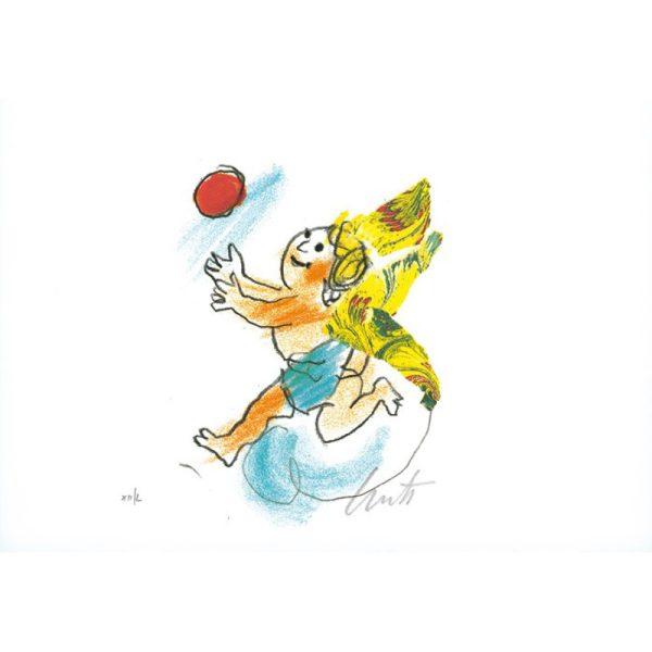 EMANUELE LUZZATI - Angioletto con palloncino 1-0