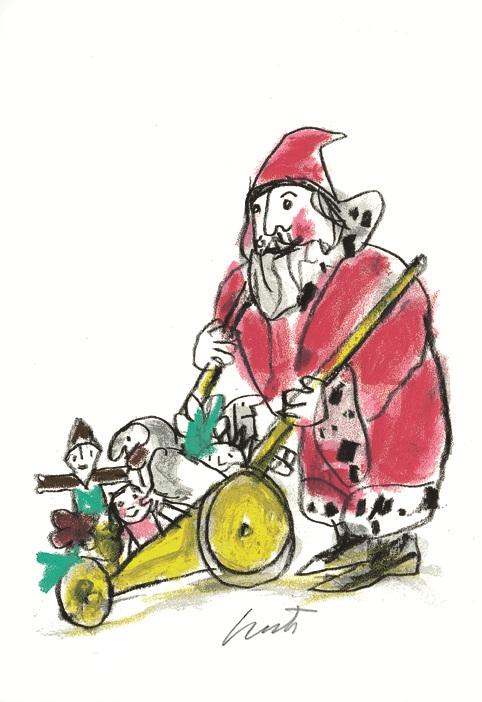 EMANUELE LUZZATI - I doni di Babbo Natale