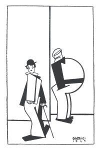 alf gaudenzi serigrafia cine