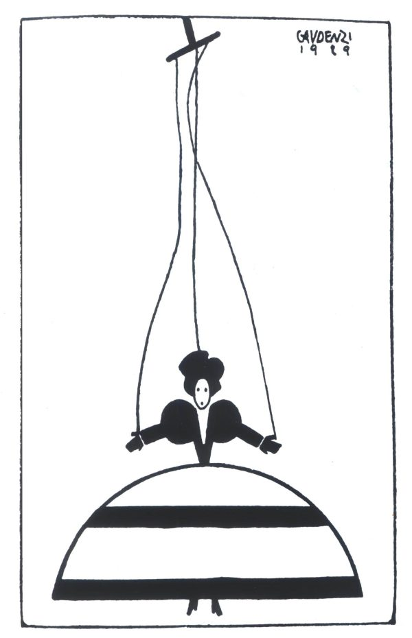 alf gaudenzi serigrafia diva
