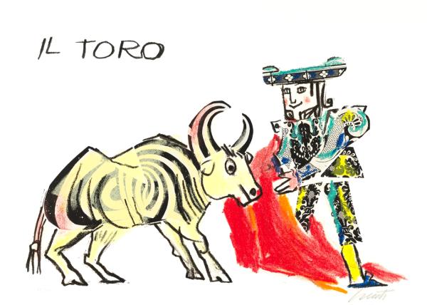 EMANUELE LUZZATI - Toro-0