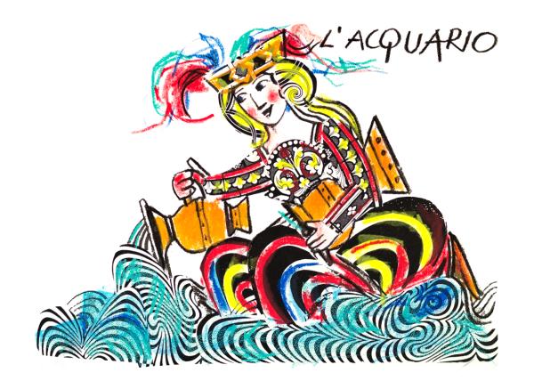 EMANUELE LUZZATI - Acquario-0
