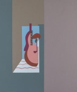 Fillia luigi colombo chitarra serigrafia