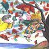 EMANUELE LUZZATI - Novembre - Danzando nel vento-0