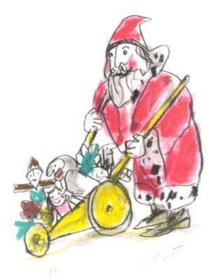 EMANUELE LUZZATI - I doni di Babbo Natale-0