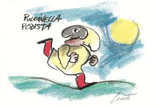 Pulcinella-sportivo-Podista