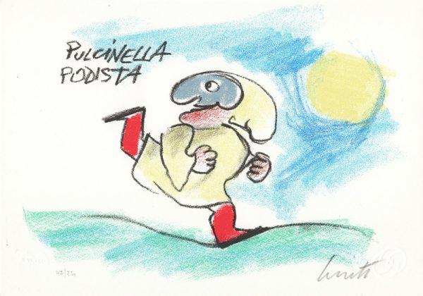 EMANUELE LUZZATI - Pulcinella podista-0