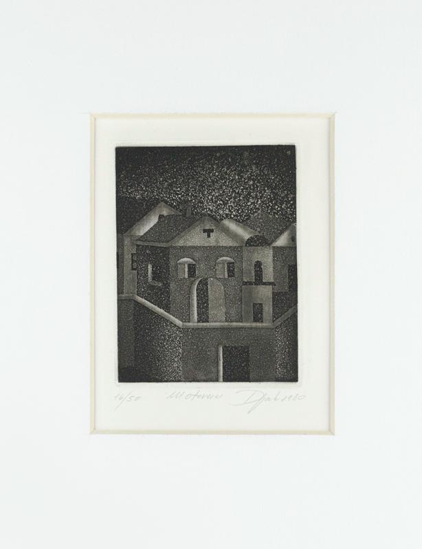 ZIVKO DJAK - Paesaggio Istriano-0