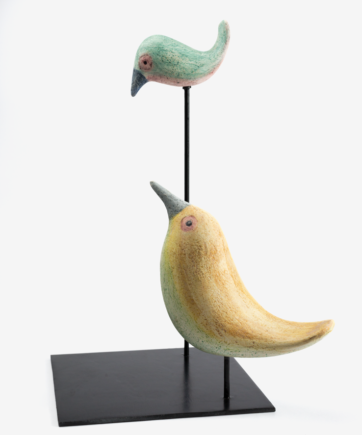 ALF GAUDENZI - Due uccellini-0