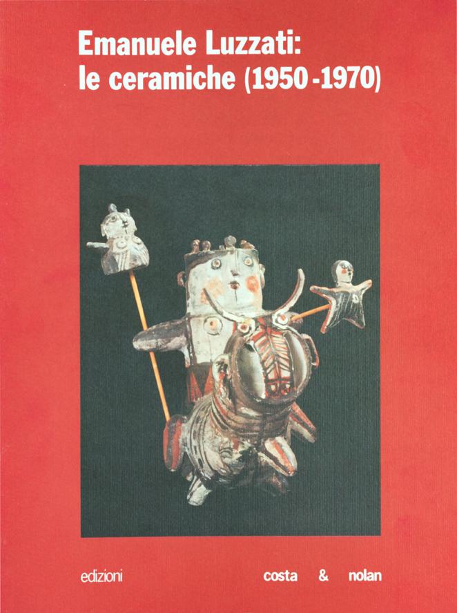 EMANUELE LUZZATI - Le ceramiche (1950 - 1970)-0