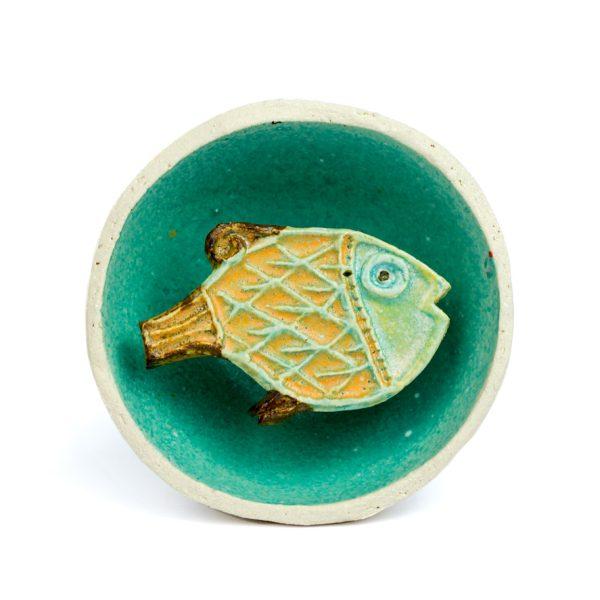 RICCARDO BIAVATI - ciotola pesce-0