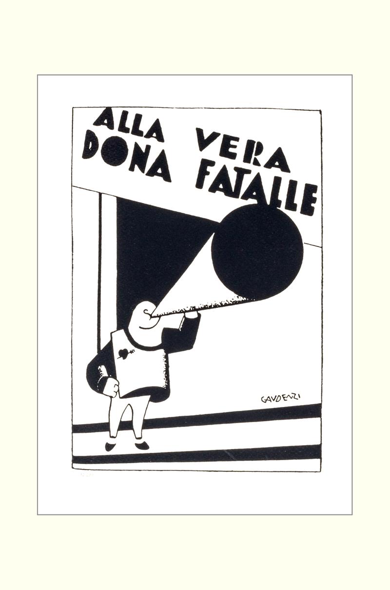 ALF GAUDENZI - Alla vera donna fatale-0