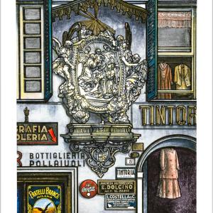 FLAVIO COSTANTINI - Edicola di Piazza Pollaiuoli-0