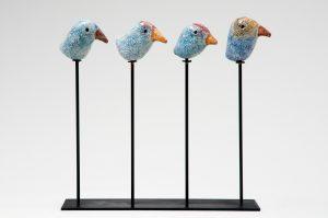 ALF GAUDENZI - Quattro uccellini