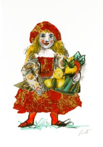 EMANUELE LUZZATI - Cappuccetto Rosso