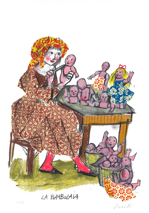 EMANUELE LUZZATI - La bambolaia