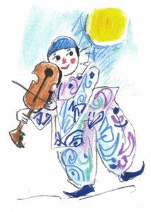EMANUELE LUZZATI - Pierrot e la Luna