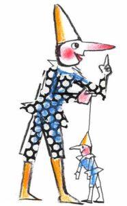 EMANUELE LUZZATI - Pinocchio