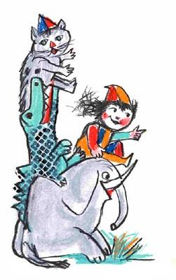 EMANUELE LUZZATI - In viaggio con l'elefante
