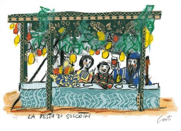 EMANUELE LUZZATI - Festa di Succoth