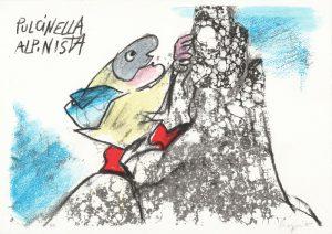 EMANUELE LUZZATI - Pulcinella alpinista