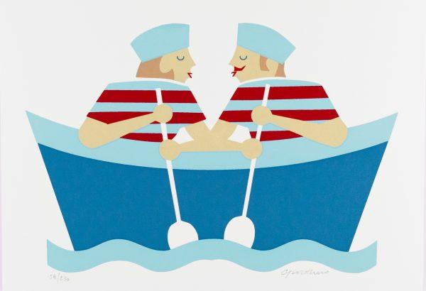SERENA GIORDANO - In barca