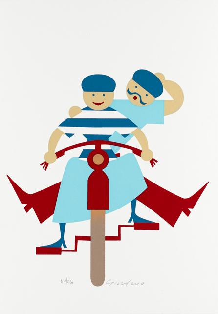 SERENA GIORDANO - In bici