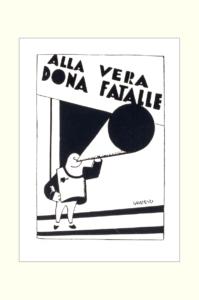 ALF GAUDENZI - Alla vera donna fatale