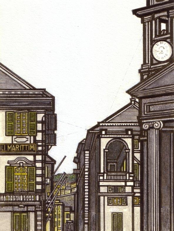 Flavio Costantini - piazza della Nunziata