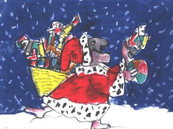 i doni dicembre Luzzati pulcinella serigrafia