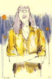 Antonio De Luca ritratto donna
