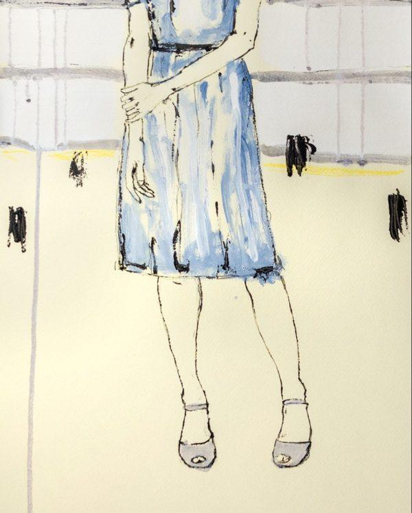 De Luca_pensiero di donna-monotipo-serigrafia_RITAGLIATA