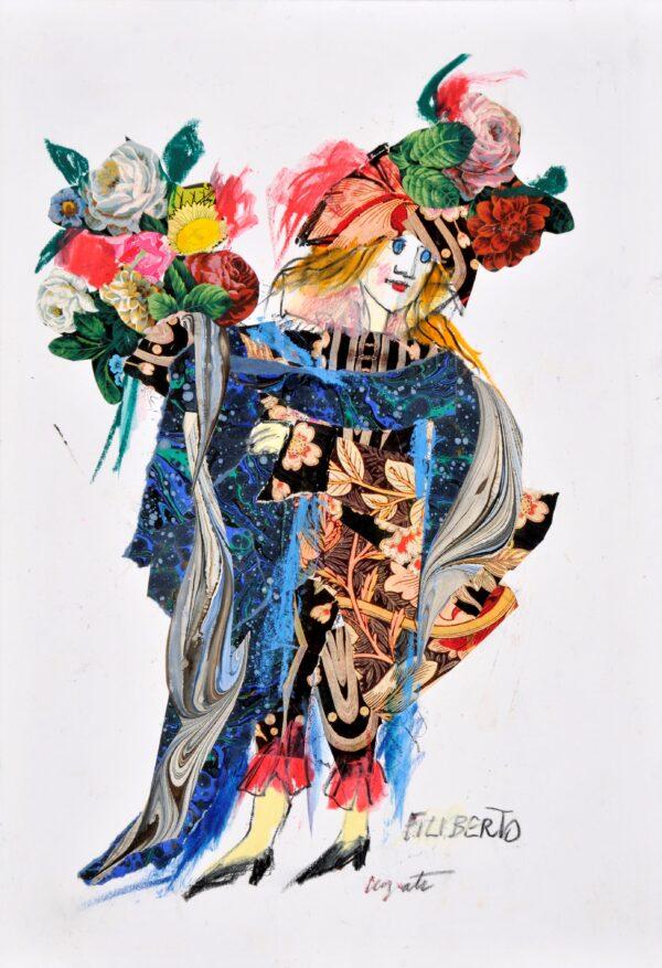 Filiberto-Pastello-e-collage_Luzzati
